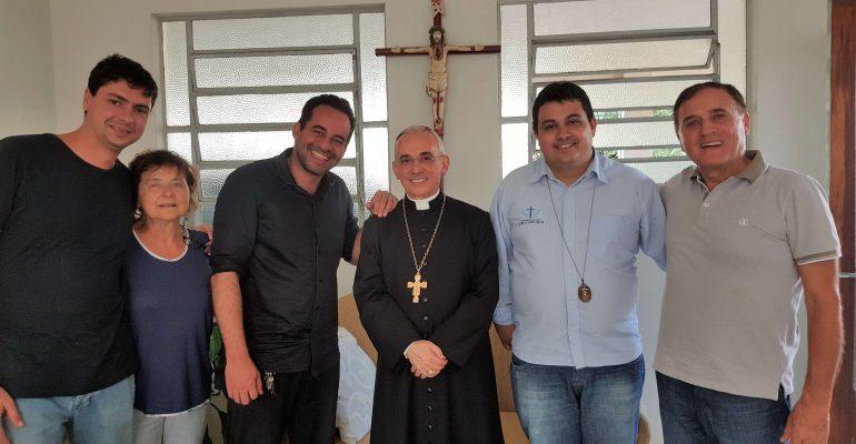 La Gisal incontra in Brasile il vescovo di Palmares (Pernambuco) Dom Henrique Soares da Costa